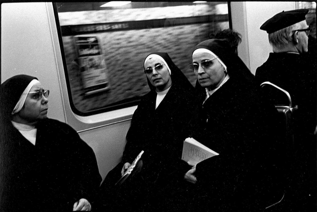 Nun in the Subway, Montreal