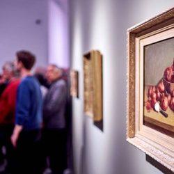 Îles réunies, Musée d'art de Joliette (vue de la toile Nature morte aux oignons d'Ozias Leduc.