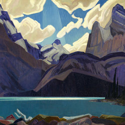 MacDonald, Clouds Over Lake O'Hara, 1930.
