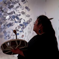 Hannah Claus, Water Song, Musée d'art de Joliette, 2019. Photo: Romain Guilbault.