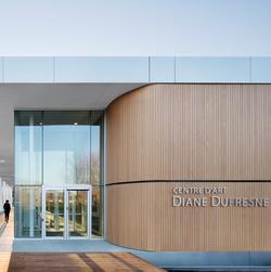 Centre d'art Diane-Dufresne. Photo : Adrien Williams